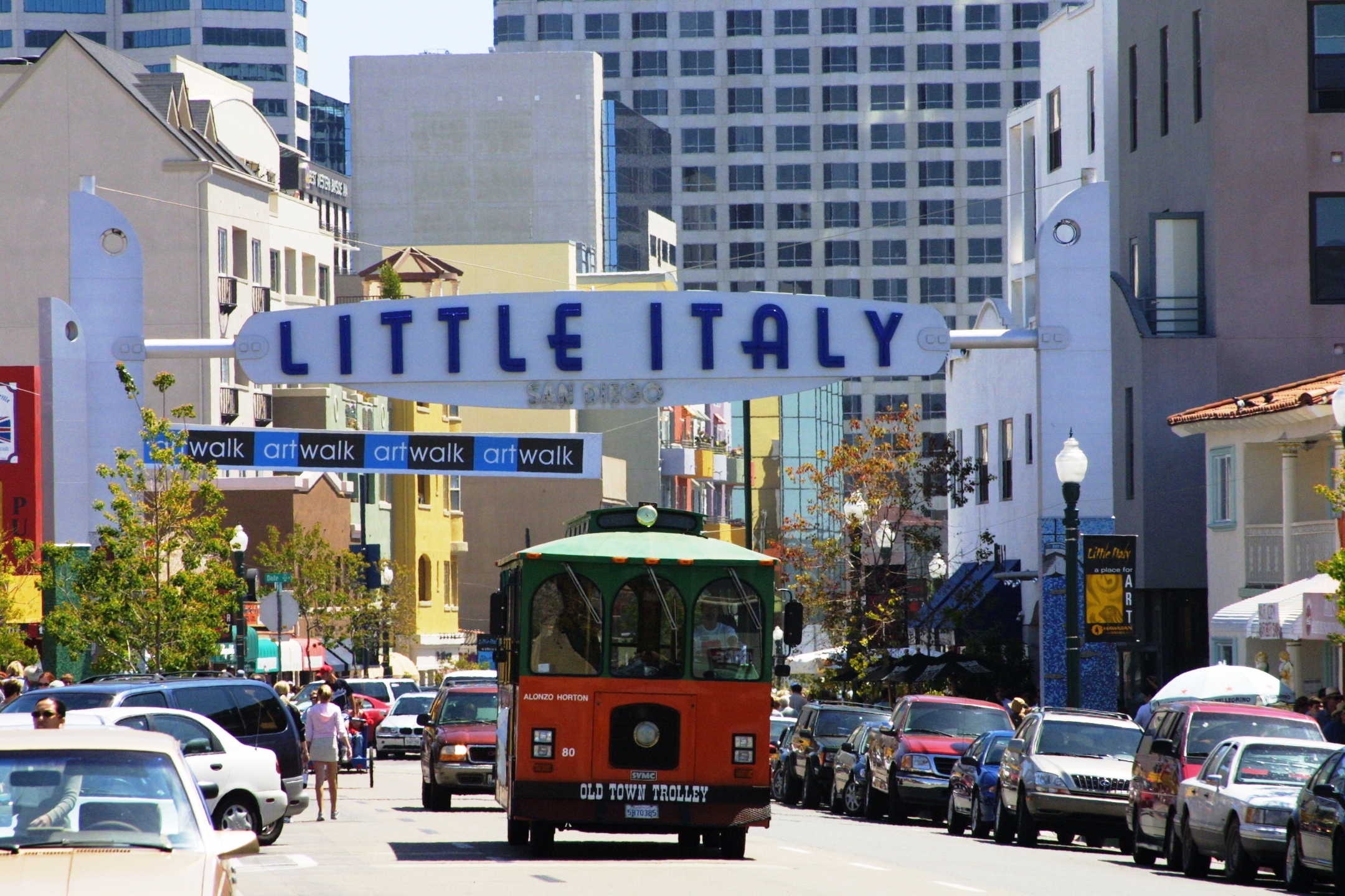 downtown-little-italy-trolley-courtesy-joanne-dibona-sandiego-org